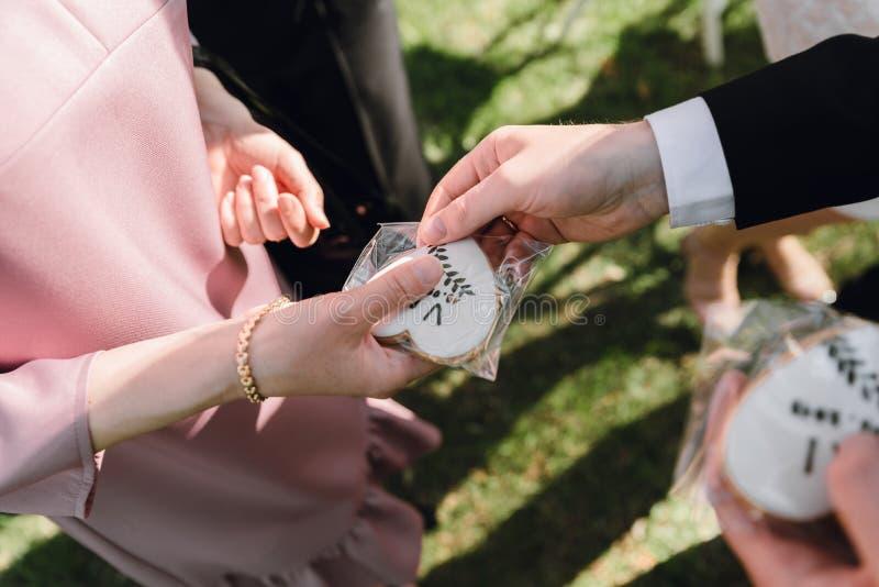 Restaura??o do casamento Fourchette do ar livre fotos de stock