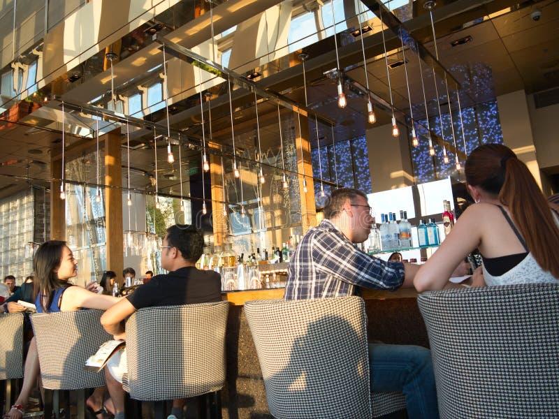 Restauracja Bar & Bistra, obrazy stock