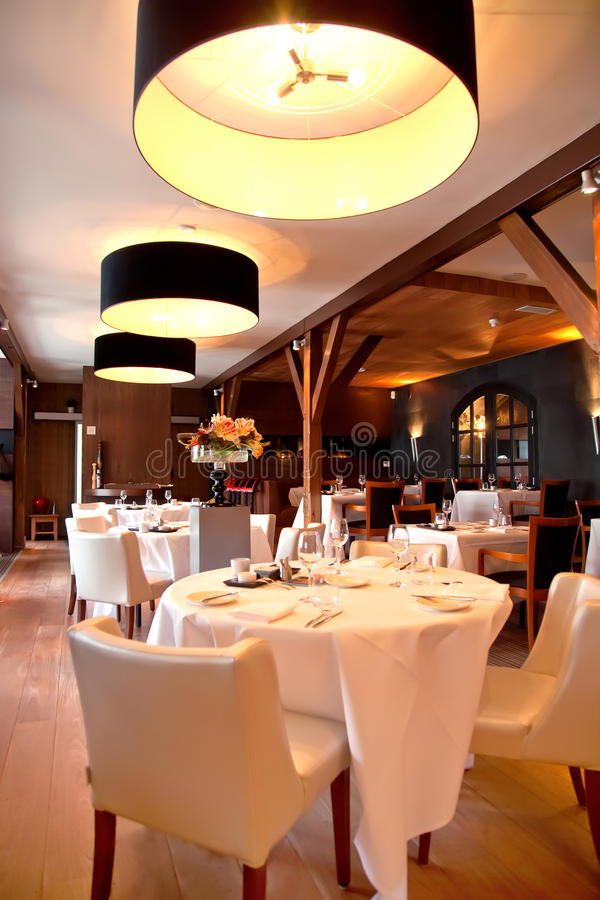 restauracja klasyczny styl fotografia royalty free
