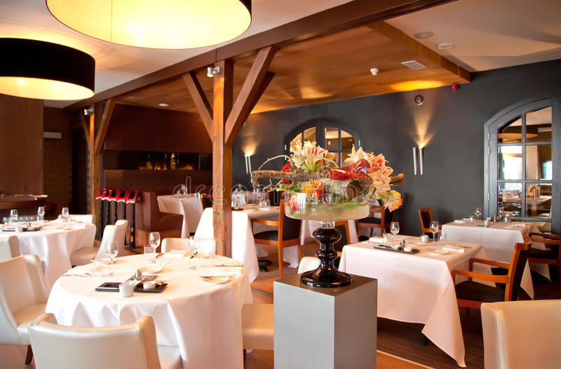 restauracja klasyczny styl zdjęcie stock