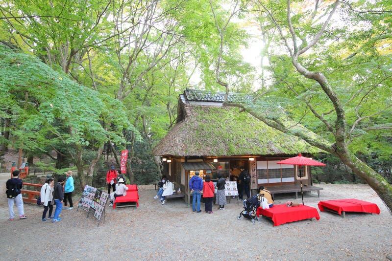 Restauracja w kawiarni Nara Japan obraz stock