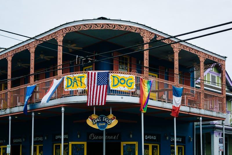 Restauracja w Marigny, w Nowy Orlean, Luizjana zdjęcie stock
