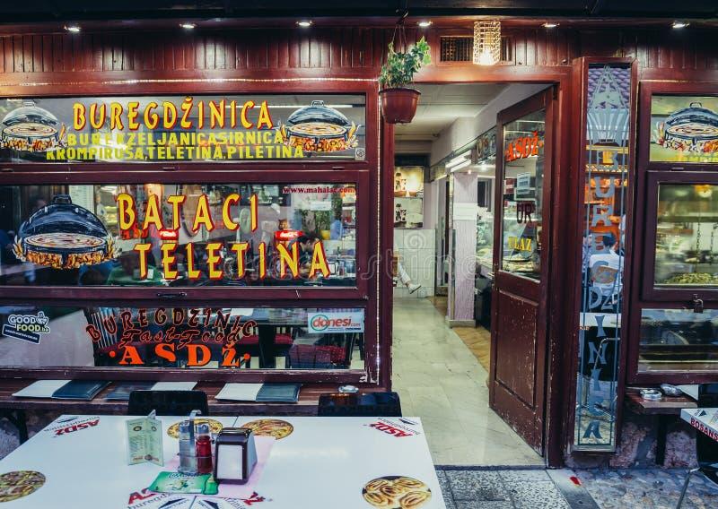 Restauracja w Sarajevo zdjęcie stock