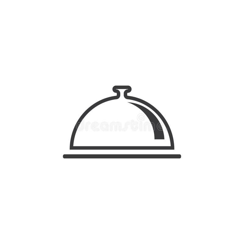 Restauracyjny logo wektor ilustracja wektor