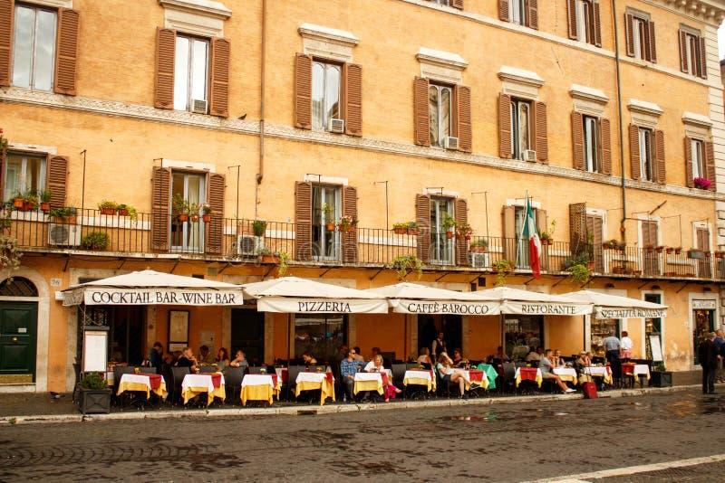 restauracyjny Rome zdjęcia royalty free