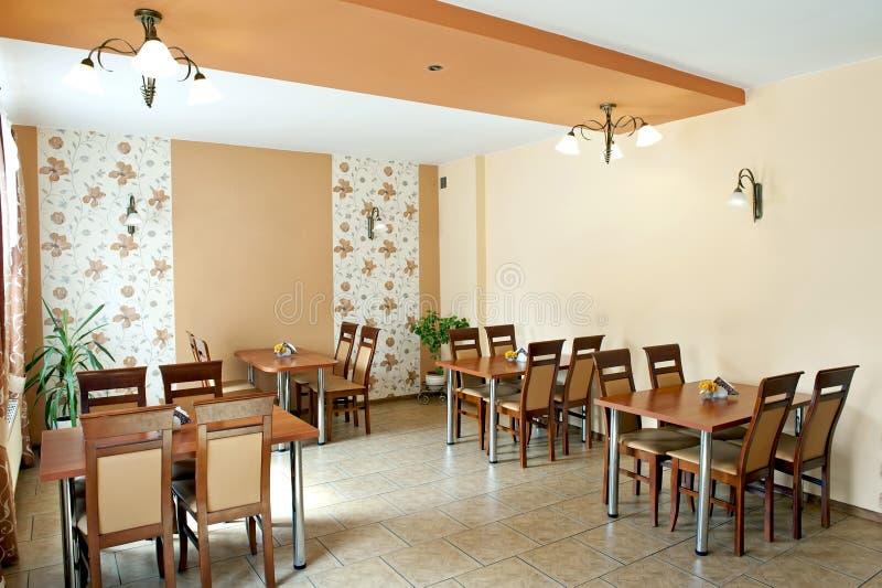 Restauracyjny wnętrze obrazy royalty free
