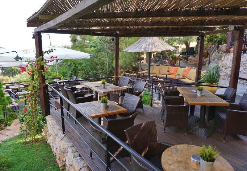 Restaurang & kafé royaltyfri bild