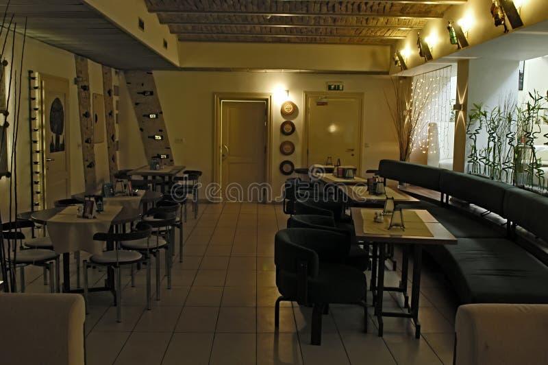 Restauranginre fotografering för bildbyråer