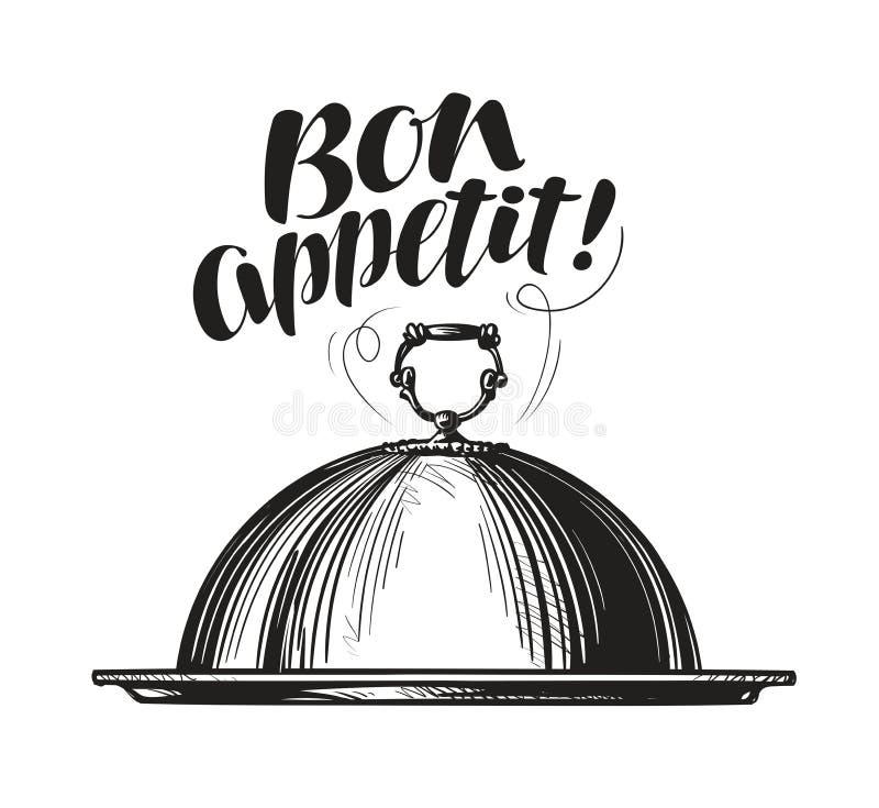 Restaurangsticklingshus för varm disk Magasinet skissar Bokstäver för menydesignmatställe, eatery eller kafé också vektor för cor vektor illustrationer