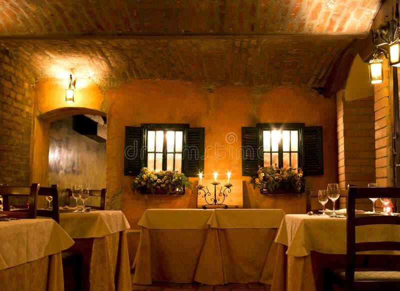 Restaurant élégant image stock