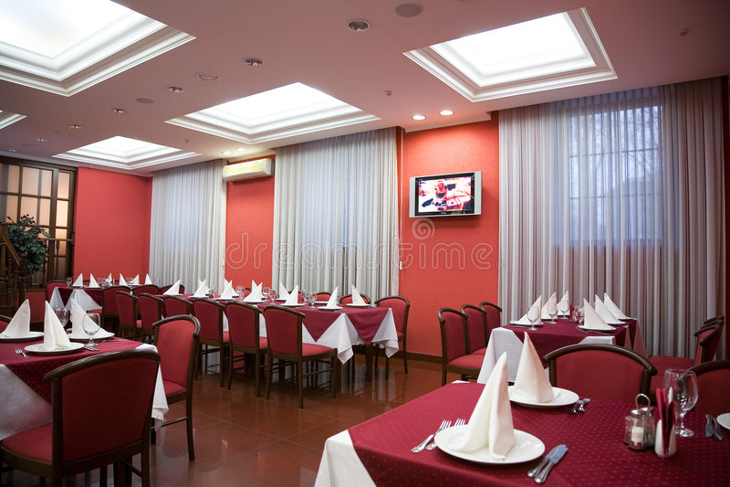 Restaurant. image stock