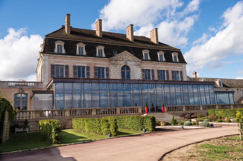 Download Restaurant at Pommard stock image. Image of museum, pommard - 27124119
