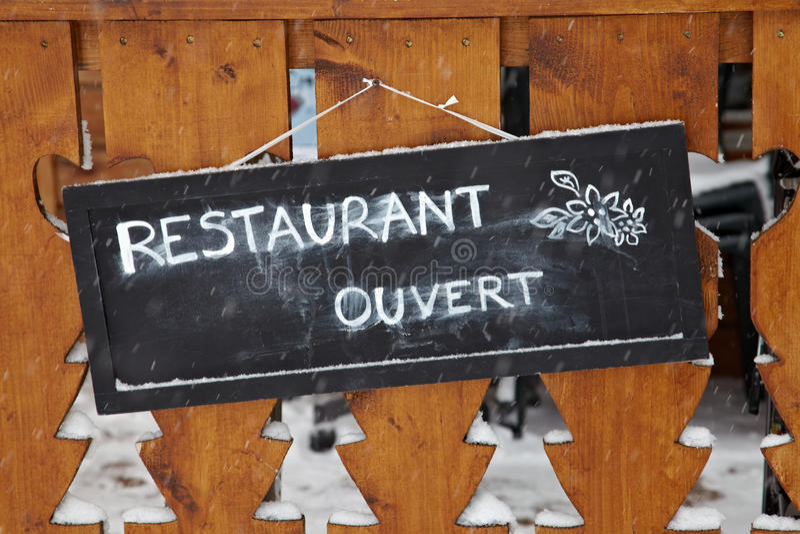 Restaurant photo stock
