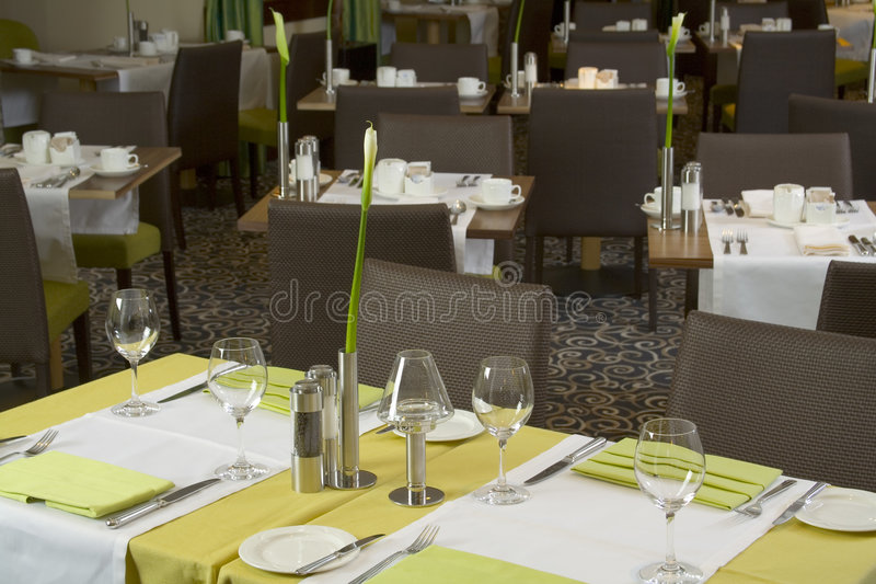 Restaurant photographie stock