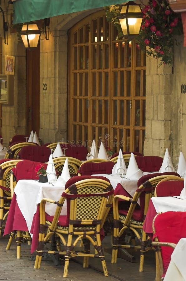 Restaurant belge photographie stock