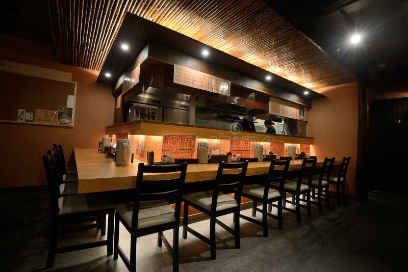 Restaurant Binnenlands Ontwerp stock foto