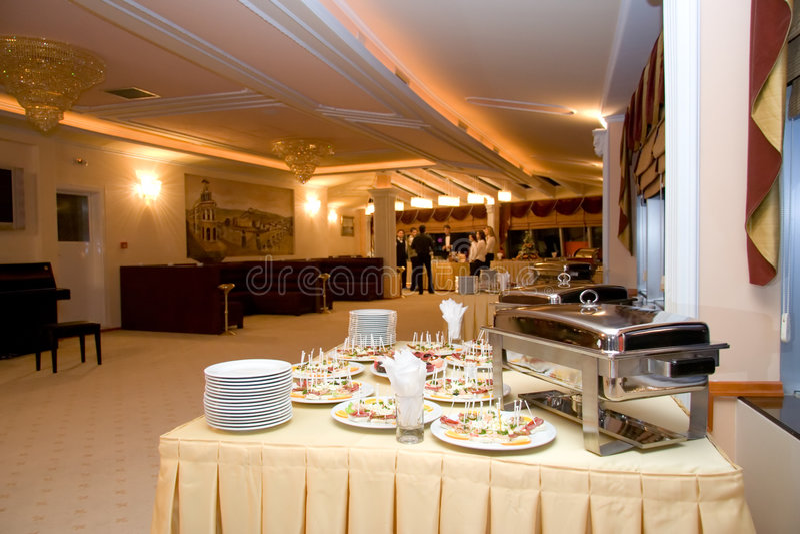 Restaurant buffet royalty free stock photo
