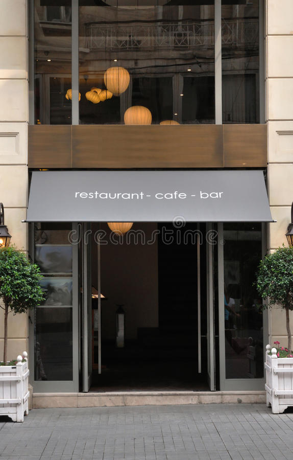Restaurant, cafe, bar - welcome royalty free stock images