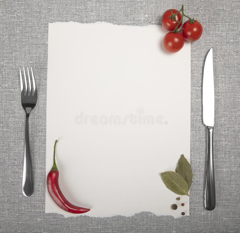 Restaurant cafe menu royalty free stock images