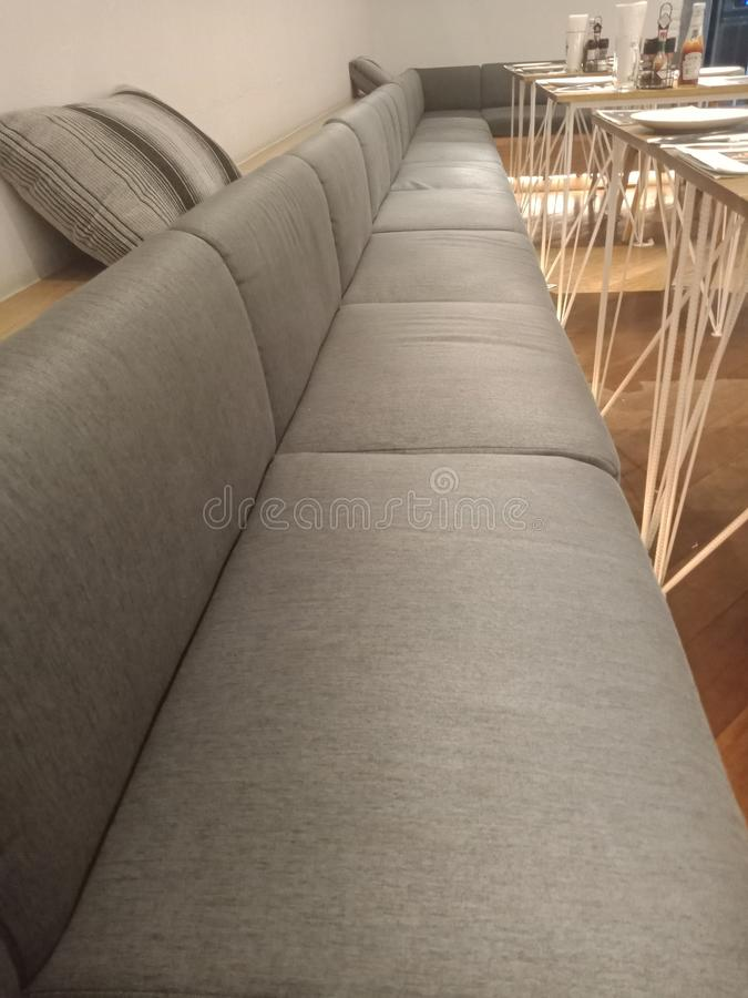 restaurant chair sofa royalty free stock images