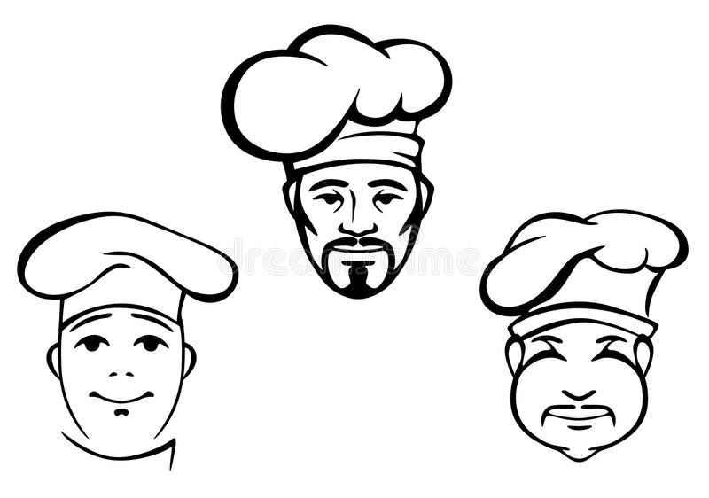 Restaurant Chefs Royalty Free Stock Image