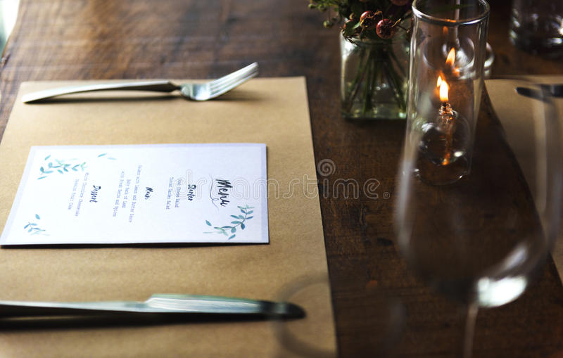 Restaurant Chilling Out Classy Lifestyle Reserved Concept royalty free stock photography