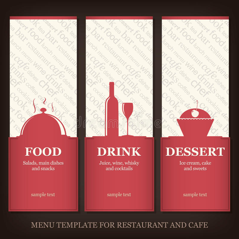 Download Restaurant Or Coffee House Menu Stock Vector - Illustration: 22946427
