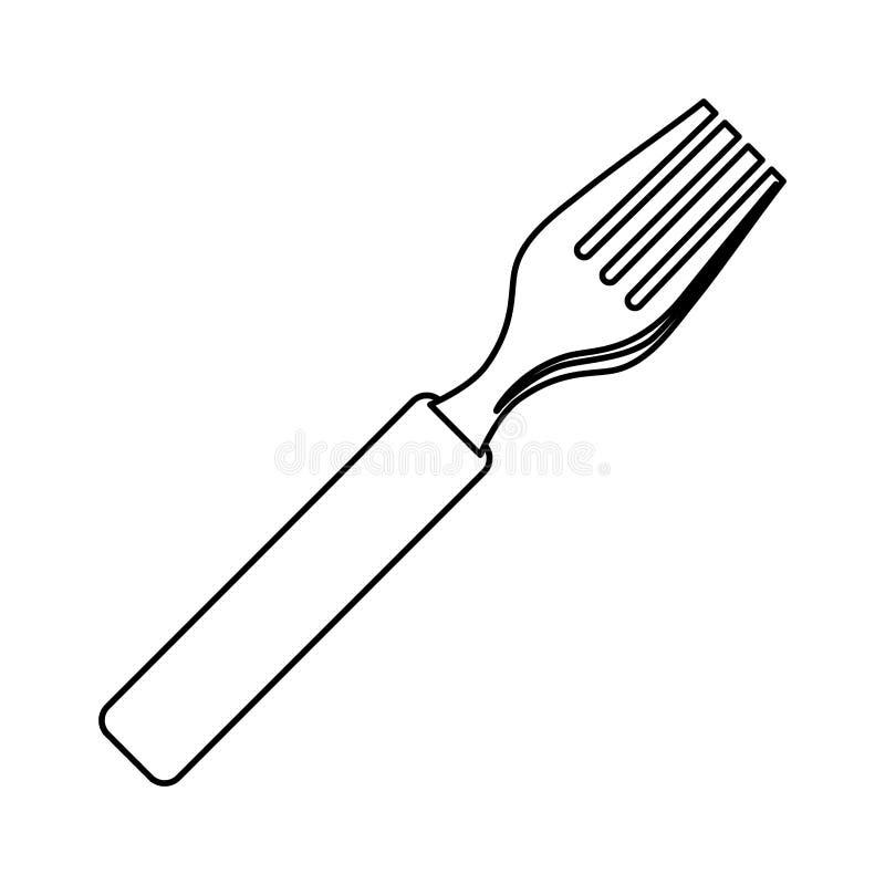 Restaurant cutlery utensil. Icon illustration graphic design vector illustration