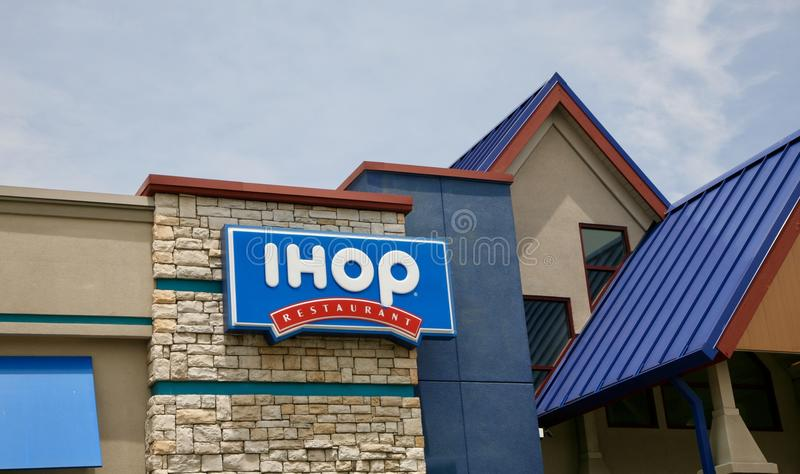 Restaurant d'IHOP image libre de droits