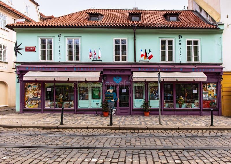 Restaurant d'U Svejku images libres de droits