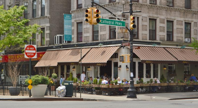 Restaurant dans Morningside Heights New York City photographie stock