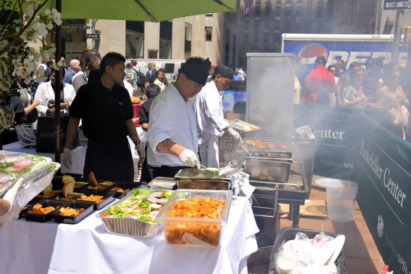 Restaurant Days at Rockefeller Center royalty free stock images
