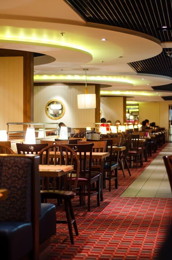Restaurant de bateau de croisière photos stock