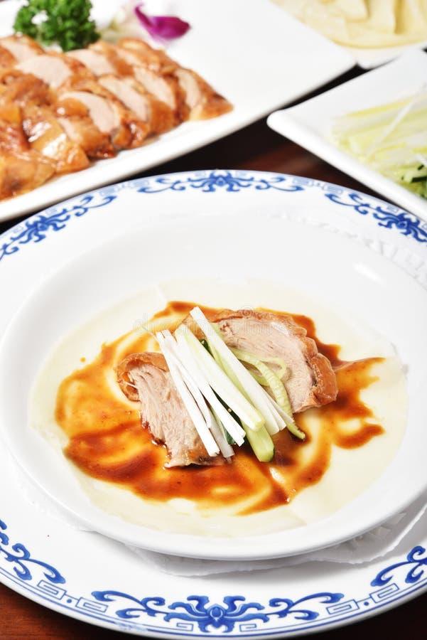 Restaurant de Chinois du rôti duck photographie stock libre de droits
