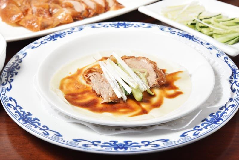 Restaurant de Chinois du rôti duck image stock