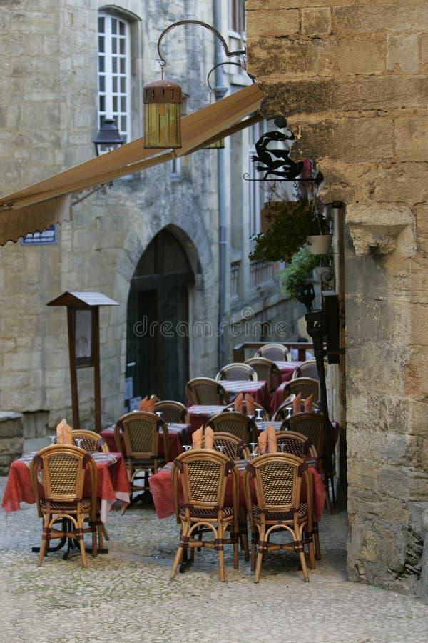 Restaurant de la France photographie stock libre de droits