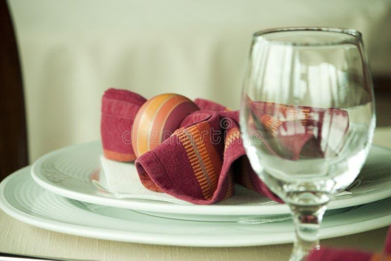 Restaurant de luxe photographie stock