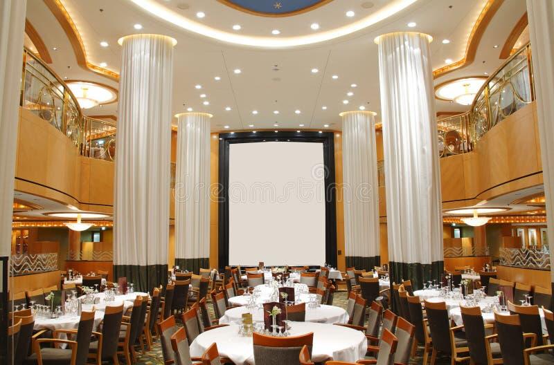 Restaurant de luxe vide images stock