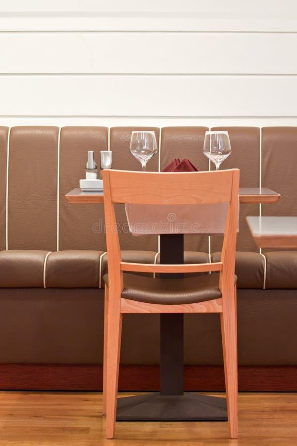 Restaurant diner table