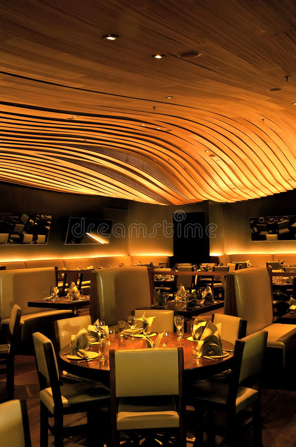 Download Restaurant dining room editorial photo. Image of quality - 12782211