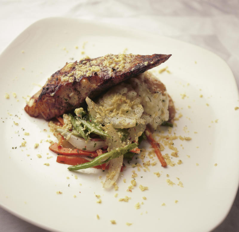 Download Restaurant Dish Stock Image - Image: 18014541