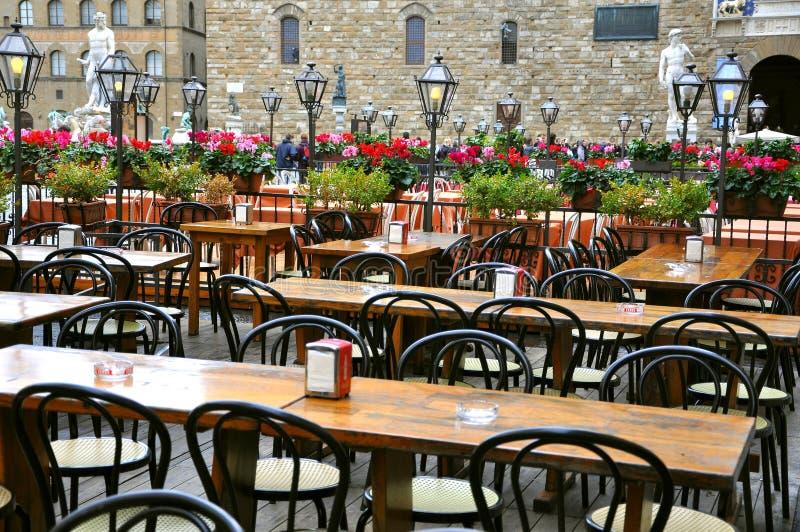 Restaurant en Italie photo libre de droits