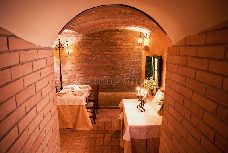 Restaurant entrance royalty free stock photography