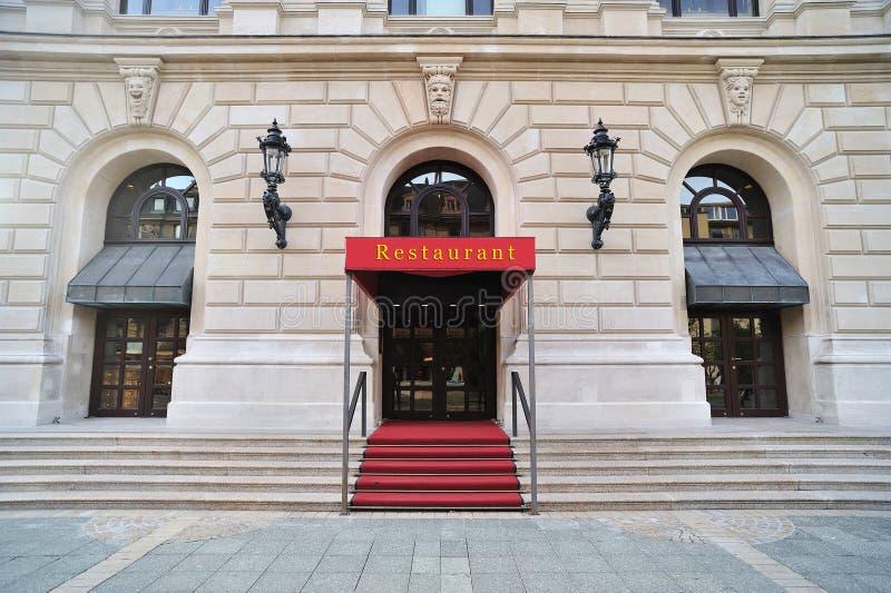 Restaurant Entrance Stock Images Image: 21748444