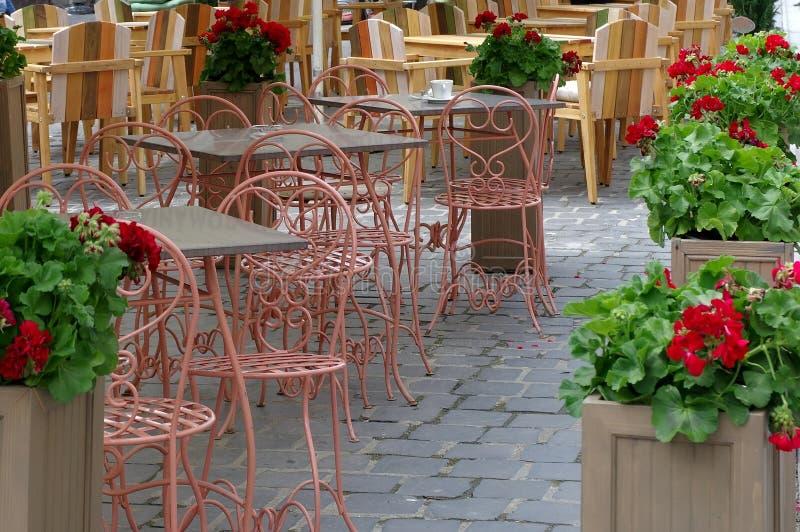 Restaurant extérieur photo stock