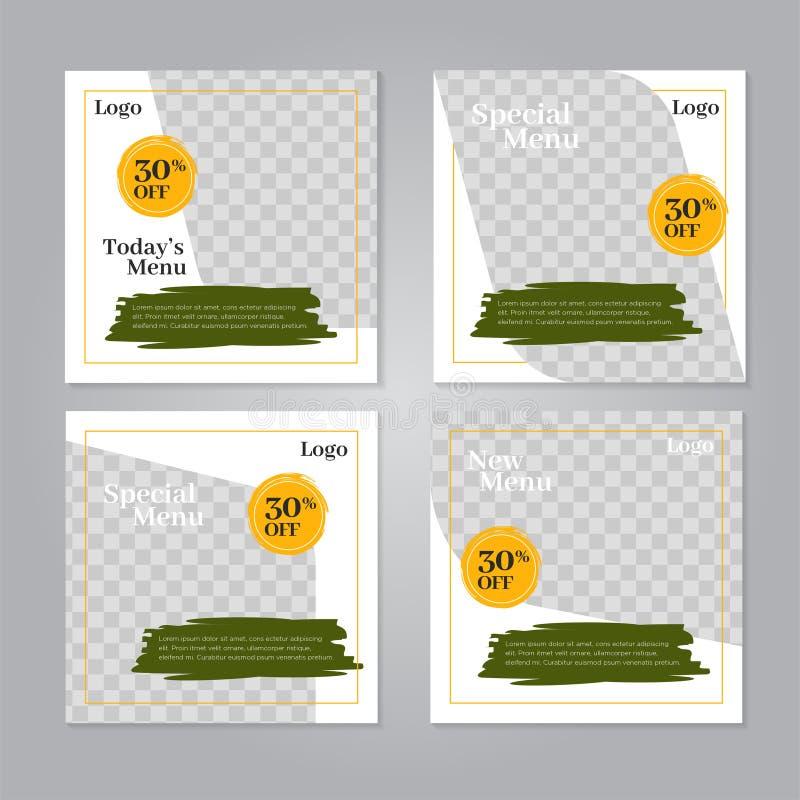 Restaurant Social Media Post Design