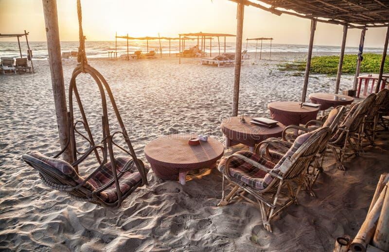 Restaurant in Goa lizenzfreies stockbild
