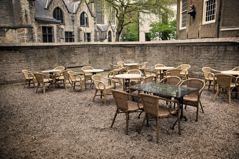 The Restaurant In Gouda Stock Photography