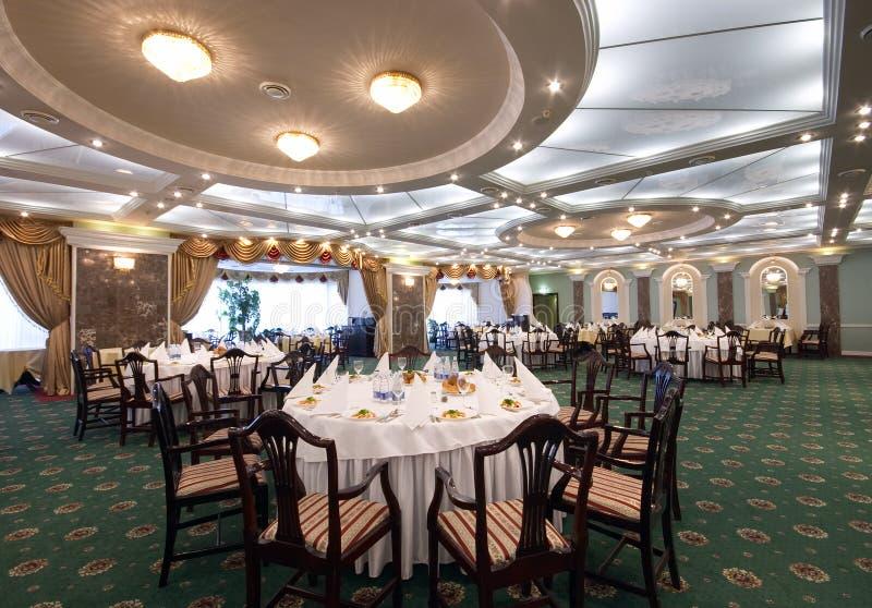 Restaurant hall stock photos