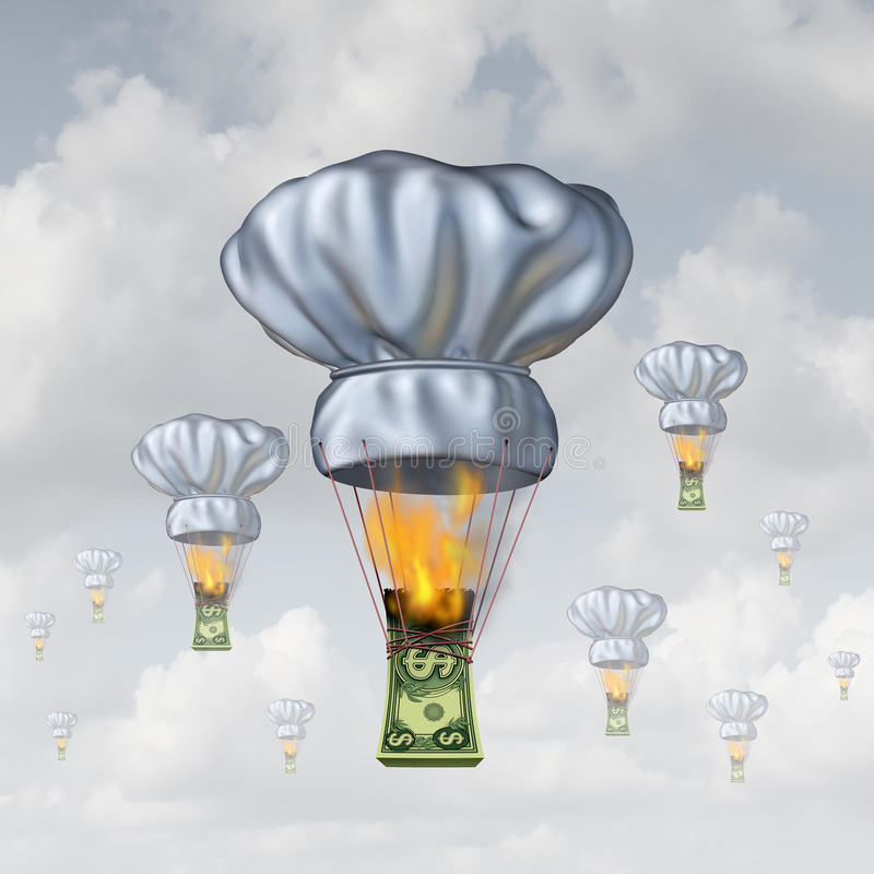 Restaurant het Dineren Kosten vector illustratie